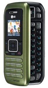 LG-EnV-VX9900-Verizon-Cell-Phone-GREEN-qwerty-side-text-bluetooth-vCast-Camera-B