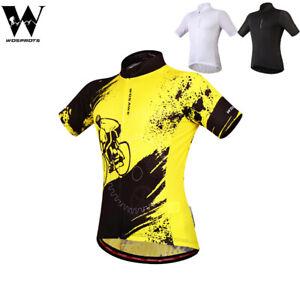Mens-Cycling-Jersey-MTB-Road-Bike-Sportswear-Short-Sleeve-Tops-Quick-Dry-Jerseys