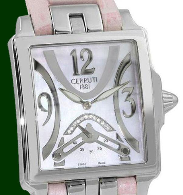 465dc014d3 Cerruti 1881 Prestige Scala Swiss Made Ladies Diamond Watch CT100762S04