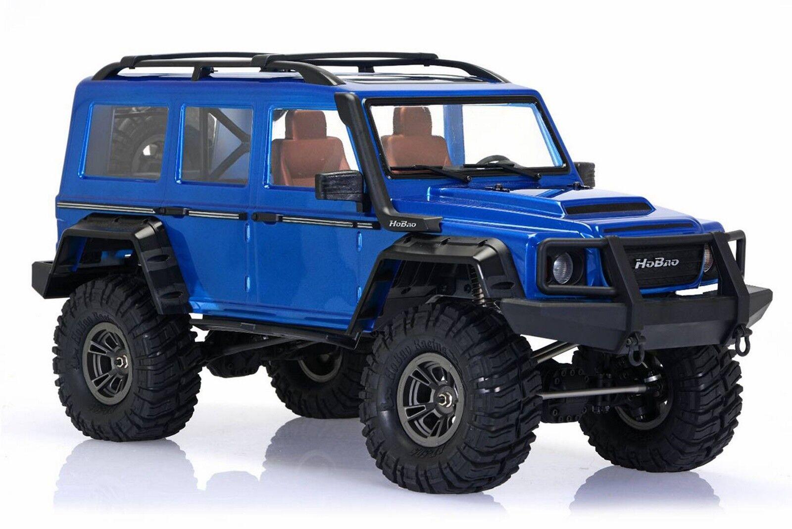 HOBAO 1 10 dc1 Trail Crawler RTR azul LACCATO hb-dc1e-cb60bu