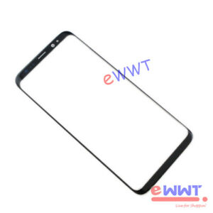 for-Samsung-Galaxy-S8-SM-G950F-5-8-034-Black-Main-Front-Screen-Glass-Lens-ZVGS466