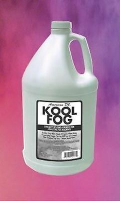 American DJ Kool Fog 1 Gallon Fog/Mist Fluid/Juice for Mister Kool