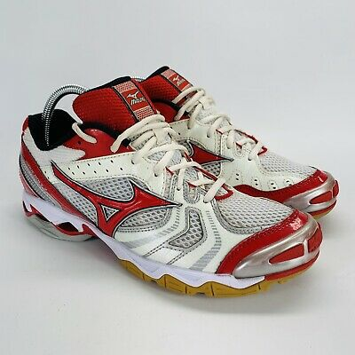 mizuno red volleyball shoes zipper