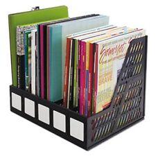 Advantus 5 Compartment Magazineliterature File Black Avt34092
