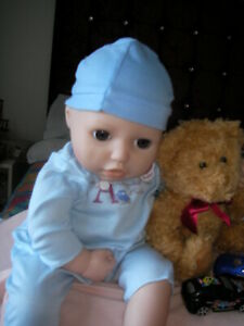 BABY ANNABELL brother Alexander With blue body heart also ...