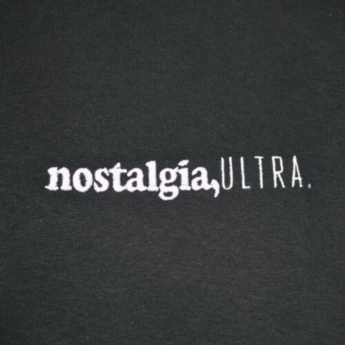 Frank Ocean Embroidered Nostalgia Ultra Hip Hop R/&B Rap Black Tee T-shirt by AF