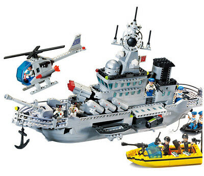 Enlighten SWAT Special Police Speedboat Assembly Puzzle Educational Toy
