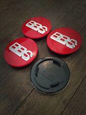 BBS RS RM RF Style Badges Centre Caps Emblem 70mm Black Red White Green Blue