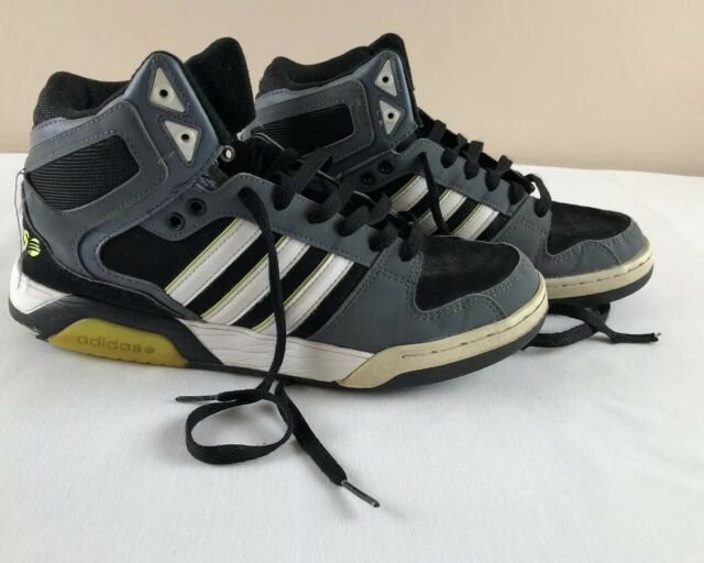 Men's Adidas High Top Sneakers Neo Label Size 9 #588