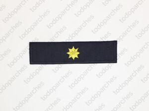 Parche-bordado-ESTRELLA-8-PUNTAS-Comandante