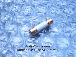 T6-3A-Audiophile-6-3A-Sicherung-5x20mm-Feinsicherung-Traege-slow-blow-vergoldet