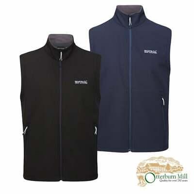 Regatta Mens Bradwell Iii Full Zip Wind Resistant Softshell Gilet Bodywarmers