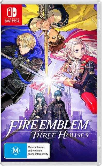 Fire Emblem Three Houses Nintendo Switch RPG Strategy Action Adventure Game