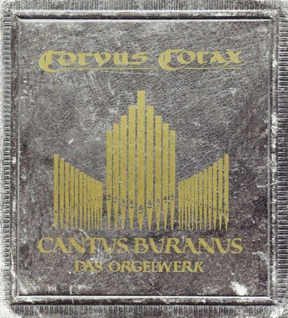Un Corvus aspirat Cantus buranus-le orgelwerk CD 2008