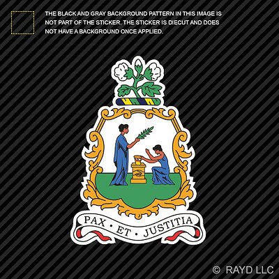 Saint Vincent and the Grenadines Euro Flag Oval car window bumper sticker decal
