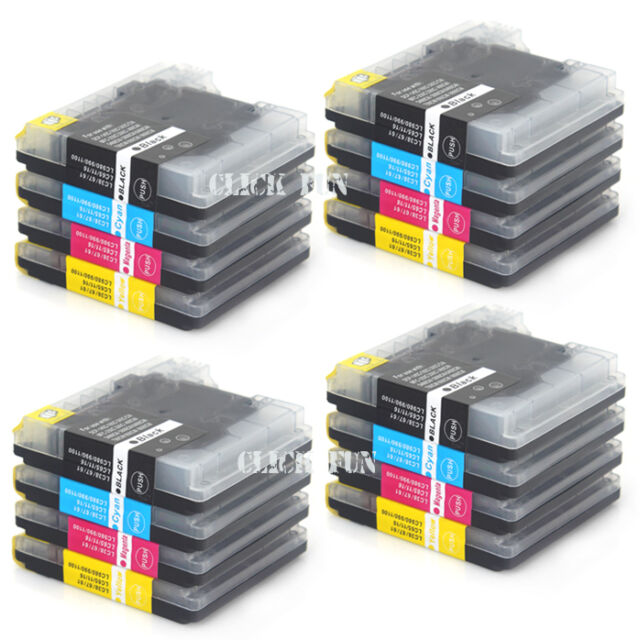 16x Ink Cartridge LC67 LC38 for Brother MFC 6890CW 6690CW 6490CW 5890CN Printer