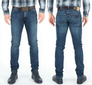 Wrangler-Herren-Jeans-Hose-Larston-Blue-Note-W30-W36