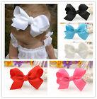 Baby Girl Grosgrain Ribbon Bow Hair Clip Pin Cute alligator Clips Lovely Gift