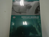 2004 2005 2006 2007 2008 Harley Davidson Sidecar Service Shop Book Manual