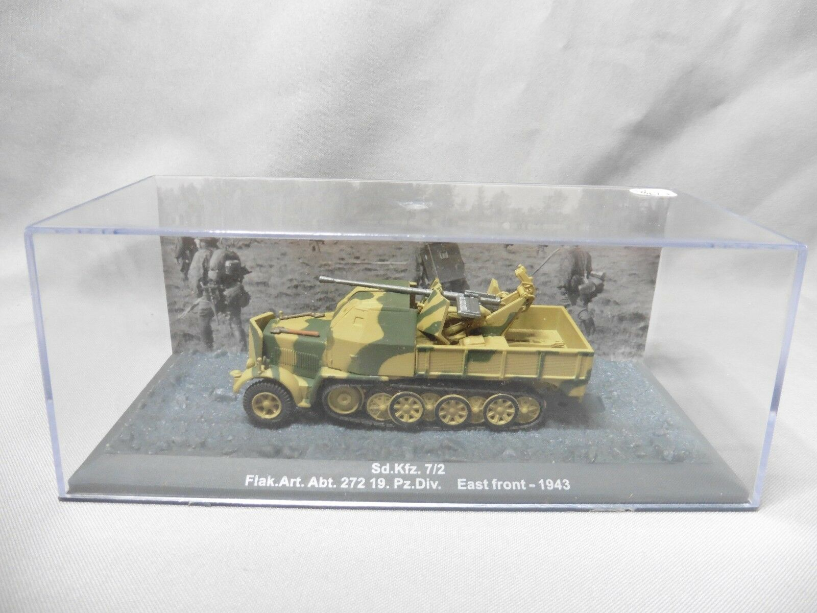 Dv8627 altaya militaire char 1   72 sd.kfz 7   2 flak east-front 1943