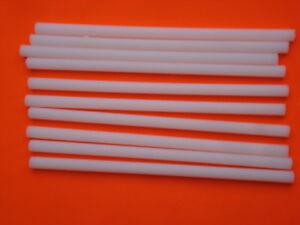 Tuerca-de-rosca-M8-nylon-longitud-200mm-20cm-lote-de-10-piezas