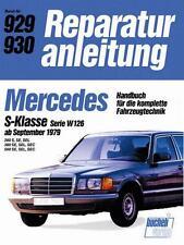 Mercedes S-Klasse W126 Reparaturanleitung DEU (280 380 500 S SE SEL SEC) Buch