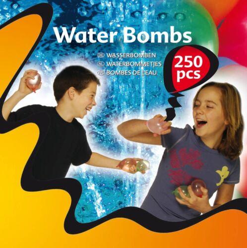 Spielzeug 500 x Wasserbomben Wasserbombe Wasserballons Bunt Water Bombs Wasser Bombe