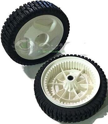 Set of 2 Husqvarna 583719501 Front Drive Wheel Craftsman 917.370440 917.370680