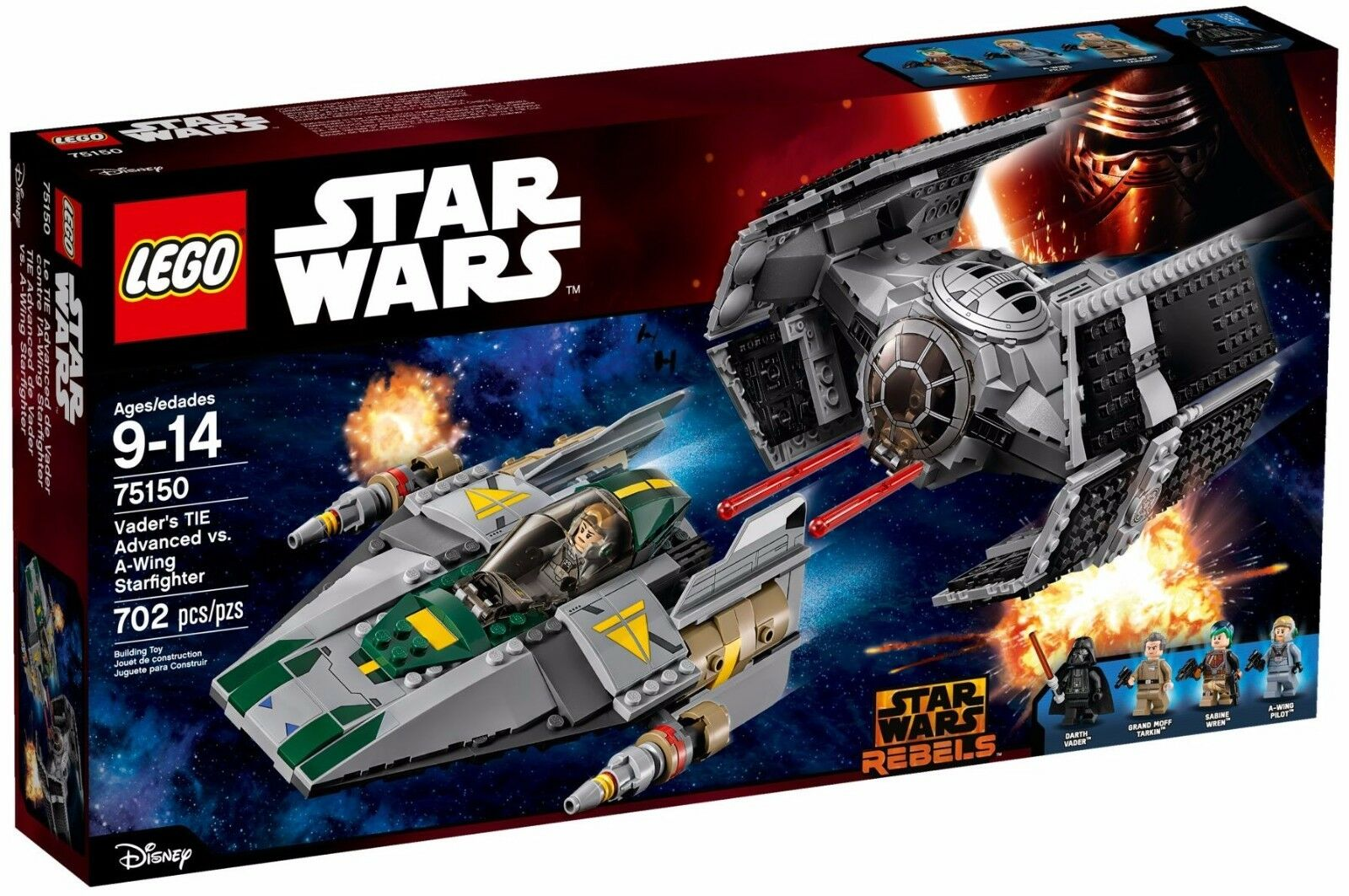 Lego Star Wars - 75150 75150 75150 - Le TIE Advanced de Dark Vador - NEUF et Scellé 2a97b2