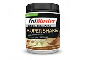 Details About Naturopathica Fatblaster Weight Loss Shake Supershake Choc 430g
