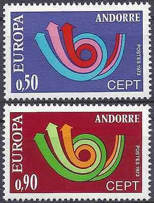Europe Bright Andorra FranzÖsisch Nr.226/227 Europa Neuf Luxe Mnh Wert Stamps