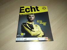 BVB @ BORUSSIA DORTMUND@ Stadionmagazin ECHT@Heft Nr. 103@BVB - Hannover@Leitner