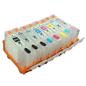 8PK-Empty-Refillable-Ink-Cartridges-CLI-42-CLI42-for-Canon-Pixma-Pro100-Pro-100