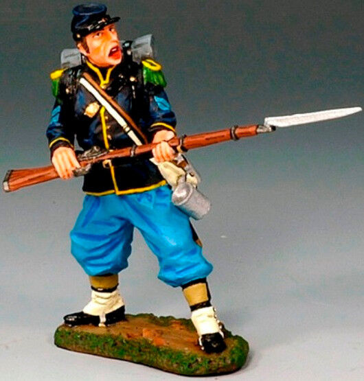KING & COUNTRY CIVIL WAR CW031 UNION STANDING READY MIB