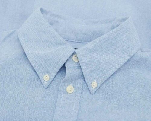 Custom Ralph Camicia blu Lauren Oxford in Fit q45x5trp
