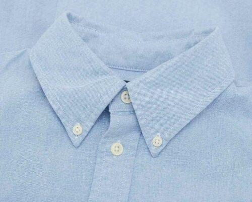 Ralph Lauren Oxford Shirt Slim Fit In Light Blue