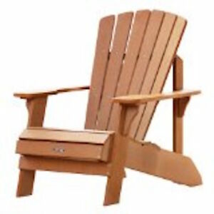 Lifetime 60064 Patio Furniture Polystyrene Simulated Faux Wood ...
