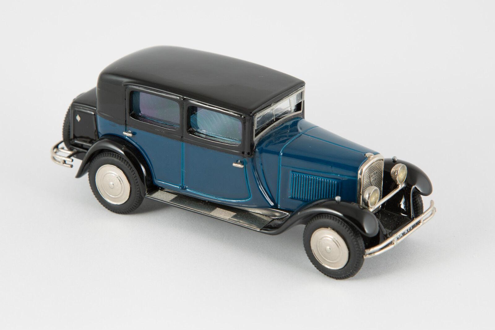 Miniature CCC montée   Peugeot 12 six berline grand luxe 1929