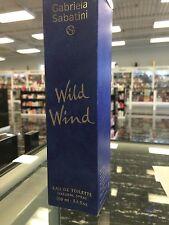 WILD WIND BY GABRIELA SABATINI, EAU DE TOILETTE SPRAY, 100 ML