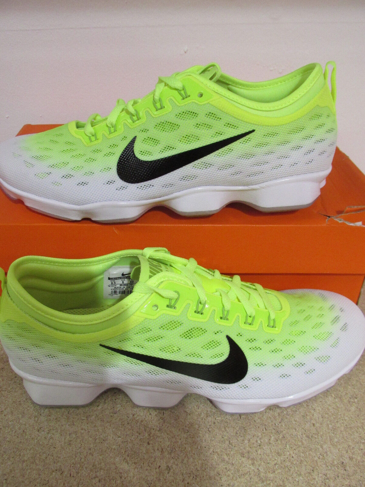 nike Damenss zoom fit agility running trainers 684984 701 sneakers schuhe