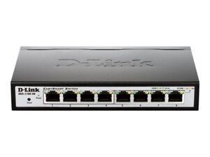 D-Link 8-Port/Gigabit Switch - Dgs-1100-08/E