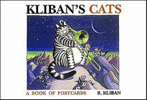KLIBAN'S CATS Book of Postcards by B. Kliban (1996, Paperback)