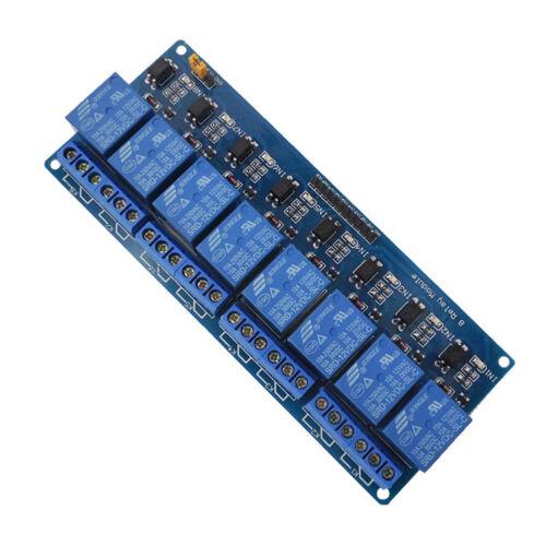 8-Kanal-DC-5-V-Relay-Shield-Modul für Arduino Raspberry Pi DSP AVR-PIC-ARM CP