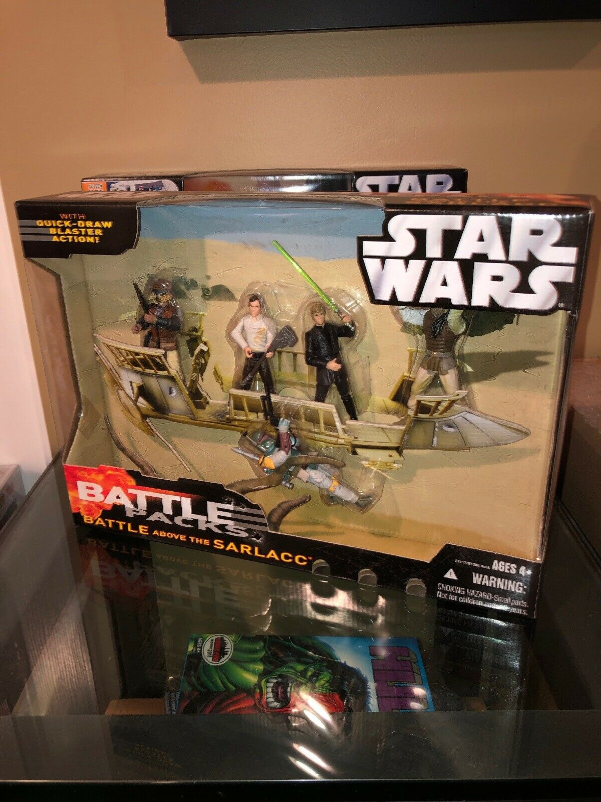 Star Wars 2006 BATTLE ABOVE THE SARLACC Battle Pack New NIB Boba Fett
