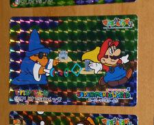 SUPER MARIO WORLD BANPRESTO CARDDASS CARD PRISM CARTE 11 NITENDO JAPAN 1993 **