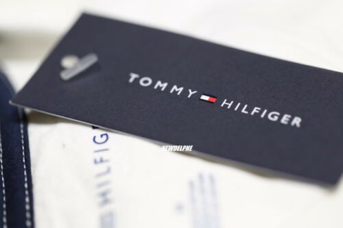 NWT TOMMY HILFIGER Men/'s Short Sleeve V-Neck Logo Tee T-Shirt XS S M L XL XXL