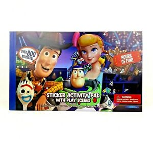 Disney-Pixar-Toy-Story-4-800-Sticker-Activity-Pad-Play-Scenes-Age-3-Woody-Buzz