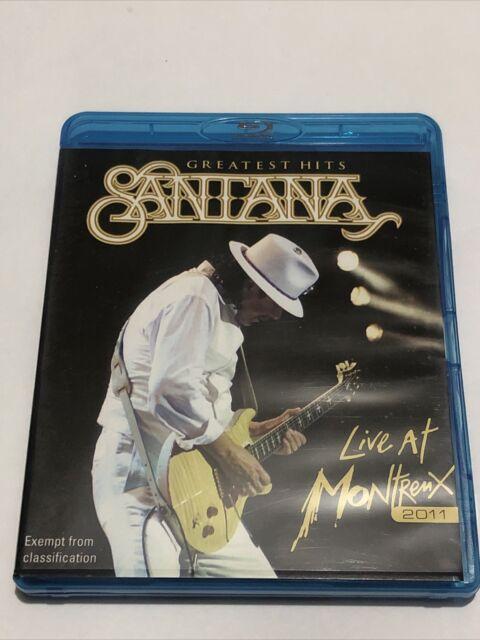 Santana - Greatest Hits: Live At Montreux 2011 - LIKE NEW Blu-Ray