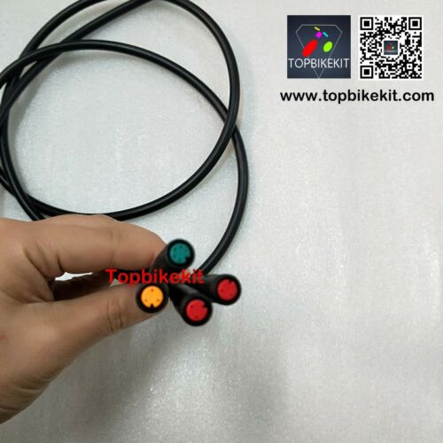 Ebike Julei 1-4 extend cable connector for throttle brake display  1400mm length
