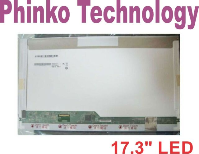 """17.3"""" LED LCD Screen for TOSHIBA SATELLITE Pro L550 L550D L670 L670/029 L770"""